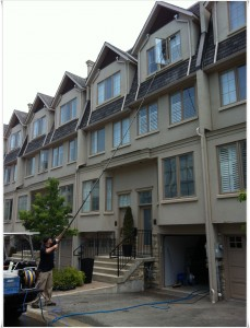 townhouse window cleaning