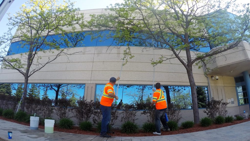 building window cleaning oakville