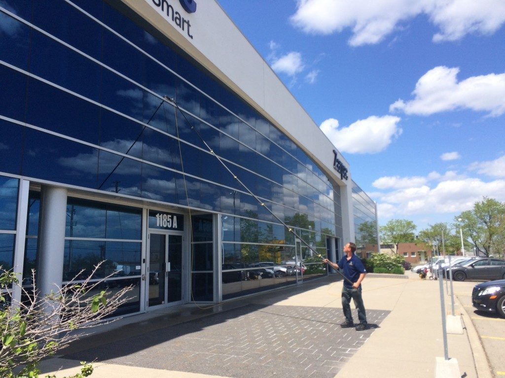 commercial window cleaning burlington